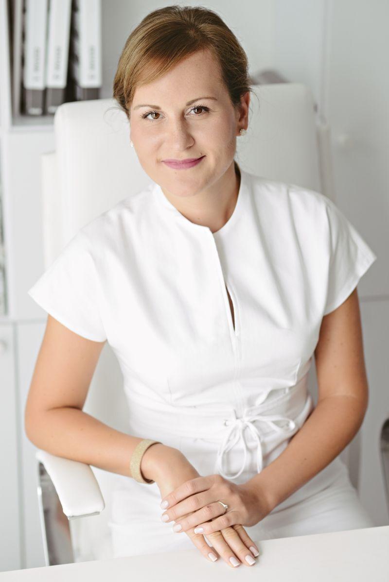 Anna Małgorzata Buszkiewicz autorka książki Bubu uczy się mówić. A kuku!