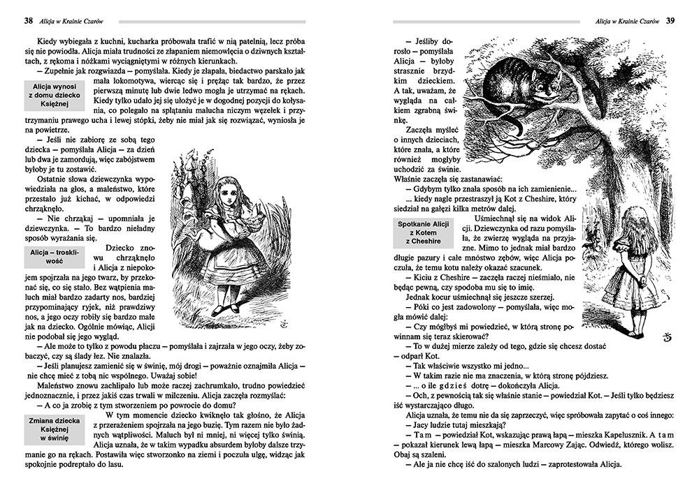 Alicja W Krainie Czarów Lewis Carroll Lektury Szkolne Z