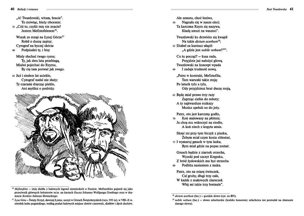 Ballady I Romanse Adam Mickiewicz Lektury Szkolne Z Omówieniem