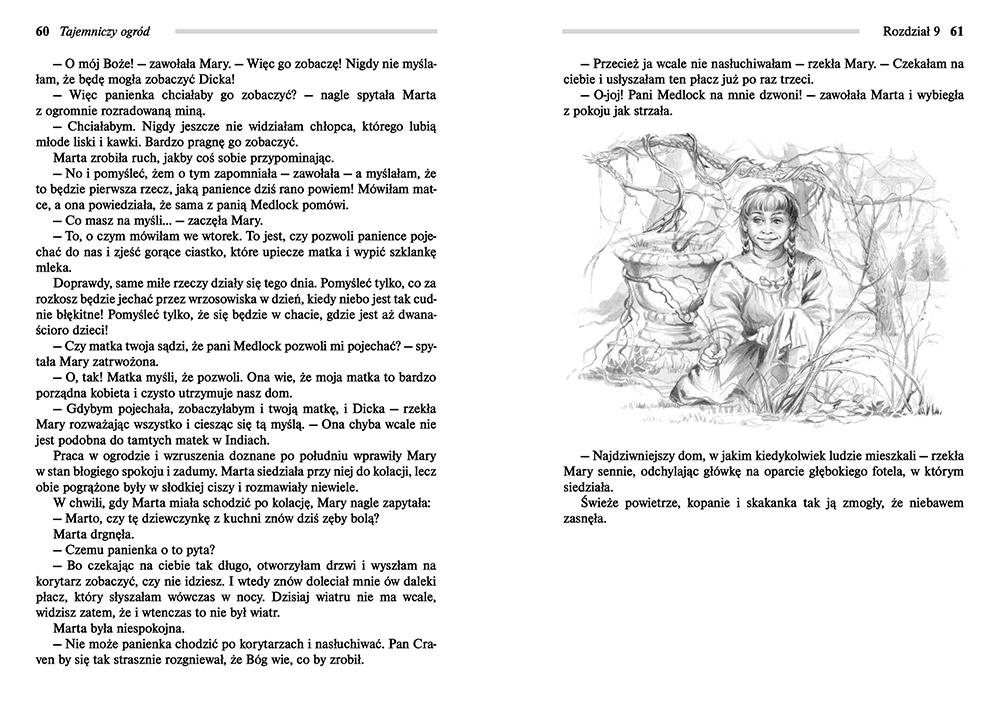 testy z lektury tajemniczy ogród klasa 6