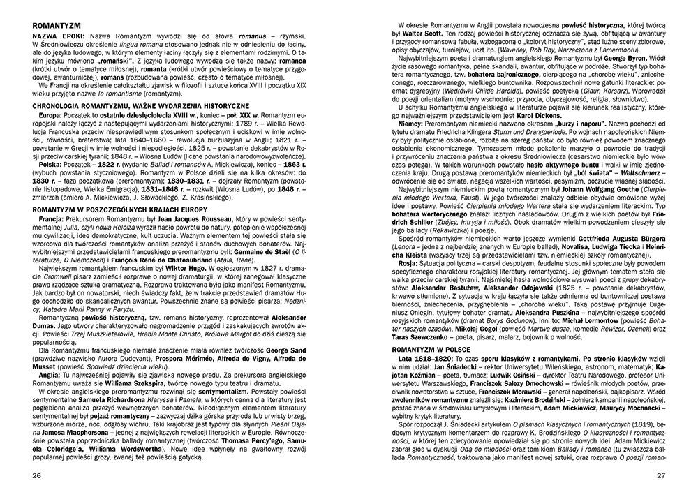 Opracowania Lektur I Wierszy Liceumtechnikum ściągi