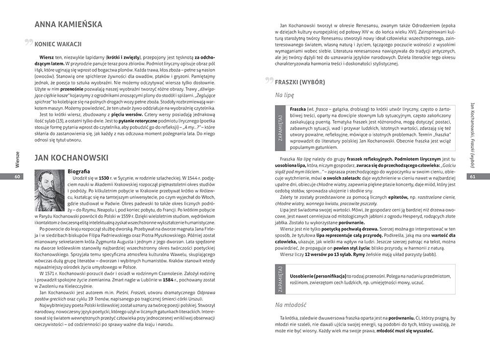 Opracowania Lektur I Wierszy Szkoła Podstawowa Klasy 4 6