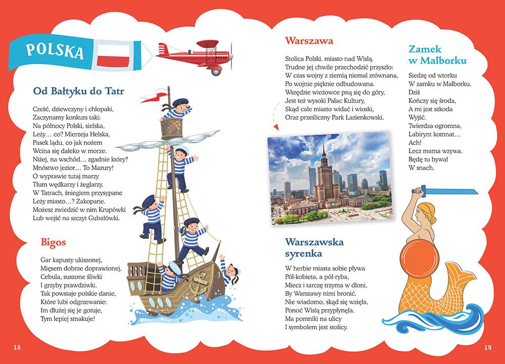 Co Warto Wiedzieć O Krajach Dodatek Mapka Dla Dzieci