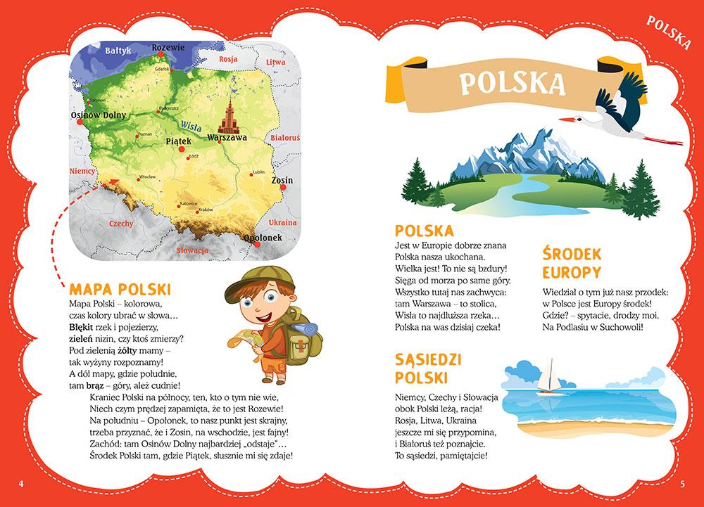 Poznaję Polskę Wiersze O Polsce ściągisciagilektury