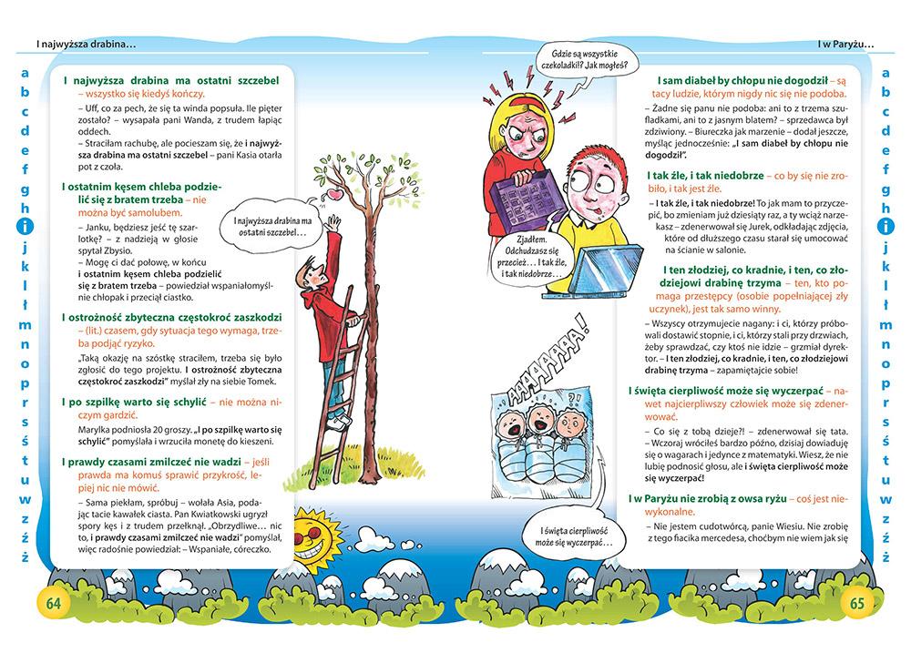 Ilustrowany Słownik Przysłów Najciekawsze Przysłowia